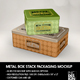 Metal Box Stack Packaging Mockup - GraphicRiver Item for Sale