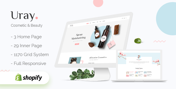 Uray - Cosmetic & Beauty Shopify Theme