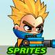 Frank 2D Game Charcter Sprites - GraphicRiver Item for Sale