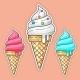 Color Ice Cream. Vector Illustration. - GraphicRiver Item for Sale