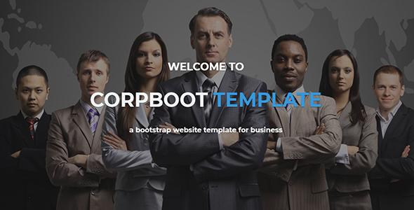 Corpboot - Corporate Website WordPress Theme