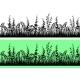 Grass Silhouette Seamless - GraphicRiver Item for Sale
