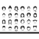 Simple Avatar Icons - GraphicRiver Item for Sale