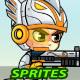 Eagle Warrrior 2D Game Sprites - GraphicRiver Item for Sale