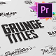 Just Type   Grunge Titles For Premiere Pro - VideoHive Item for Sale