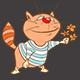 Set of Cartoon Cats - GraphicRiver Item for Sale