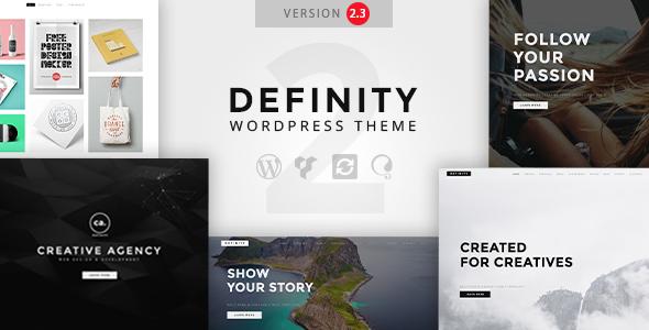 Definity - Creative Multi-Purpose WordPress Theme