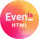 Eventa - Conference & Event HTML Template - ThemeForest Item for Sale