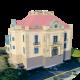Villa Josef Thyssen - 3DOcean Item for Sale