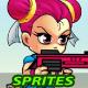 Kim 2D Game Charcter Sprites - GraphicRiver Item for Sale