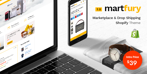 Martfury - Multiple Purposes Marketplace Shopify Theme