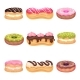 Set of Various Pastries - GraphicRiver Item for Sale