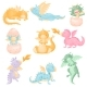 Set of Dragons - GraphicRiver Item for Sale