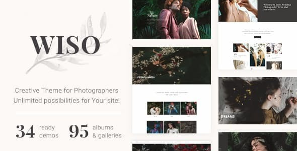 Photography WISO – Photography WordPress photography Free Download