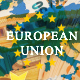 European Union Map over 50 Euros Banknotes - VideoHive Item for Sale