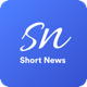 ShortNews - Read News Within 60 Second - Android Native App - CodeCanyon Item for Sale
