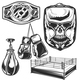 Set of Boxing Elements - GraphicRiver Item for Sale