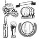 Set of Beer Elements - GraphicRiver Item for Sale