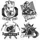 Set of Hiking Emblems - GraphicRiver Item for Sale