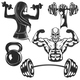 Set of Gym Elements - GraphicRiver Item for Sale