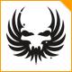 Black Wings Skull Logo - GraphicRiver Item for Sale