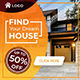 Real Estate Ad Banner - AR - GraphicRiver Item for Sale