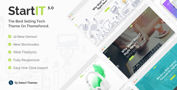 Startit - Fresh Startup Business Theme