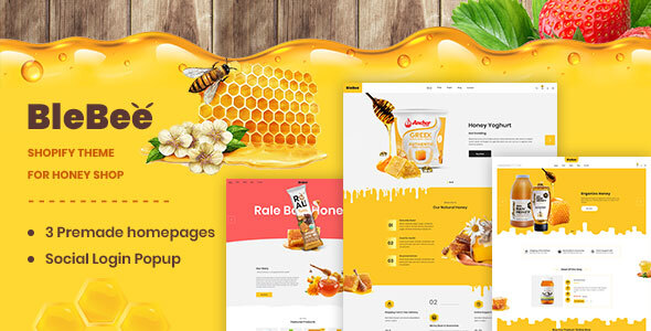 BleBee | Shopify theme for Honey Shop