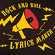 Lyrics Maker - Rock and Roll - VideoHive Item for Sale