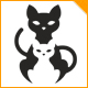 Cute Cats Logo - GraphicRiver Item for Sale