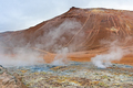 Desolate Mountain in a Thermal Area - PhotoDune Item for Sale