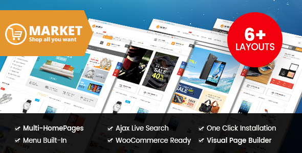 Market - Digital Store & Fashion Shop WooCommerce WordPress Theme