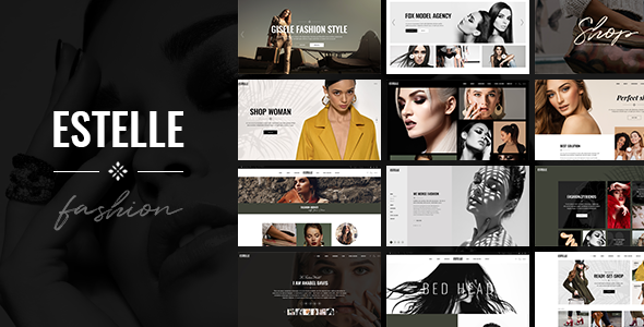 Estelle – Fashion and Modelling Agency Theme Free Download