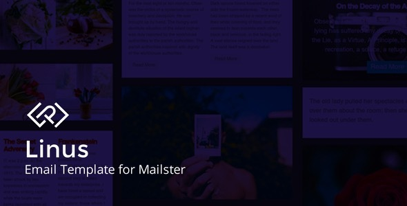 Linus - Email Template for Mailster