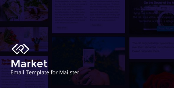 Market - Email Template for Mailster
