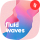 Colorful Liquid Waves Backgrounds - GraphicRiver Item for Sale