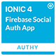 Authy - Ionic 4 Firebase Auth Full App / Phone Auth / Google / Facebook / Email for Android and iOS - CodeCanyon Item for Sale