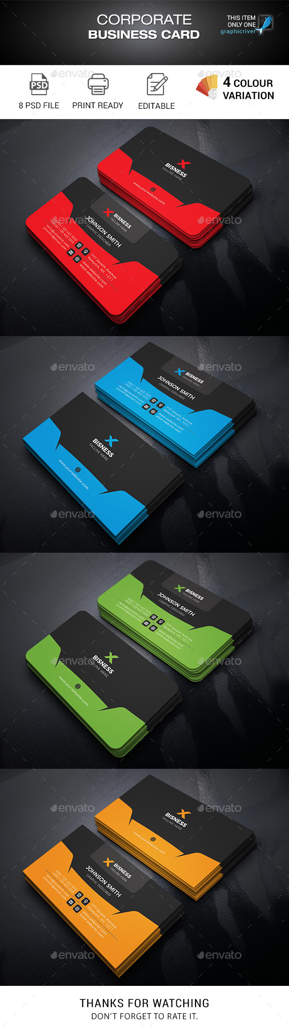 Business Card Templates Designs From