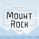 Mountrock - Summer Camp Font - GraphicRiver Item for Sale