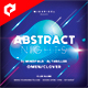 Abstract Nights 4x4 Inch Flyer Template - GraphicRiver Item for Sale