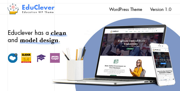 Educlever - Education WordPress Themes