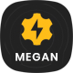 Megan - Industrial & Manufacturing Businesses HTML Template - ThemeForest Item for Sale