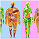 Food in People, Man Woman, Diet - GraphicRiver Item for Sale