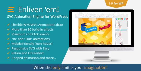 Enliven 'em! - SVG Animation Engine for WordPress Download