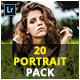 20 Portrait Pack Lightroom & Camera RAW Presets - GraphicRiver Item for Sale