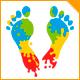 Color Foot Logo - GraphicRiver Item for Sale