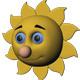 Sun Cartoon - 3DOcean Item for Sale