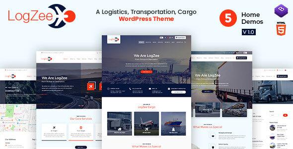Logzee - Logistics WordPress Theme