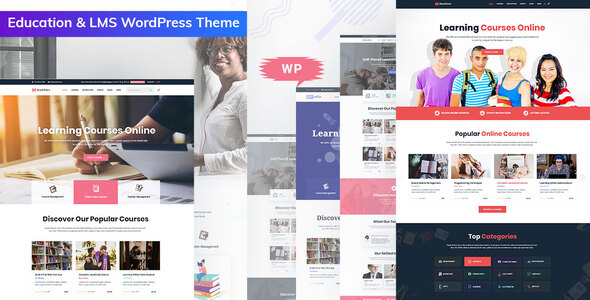 Bookflare - A Modern Education & LMS WordPress Theme