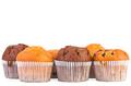 Fresh muffins with jam,raisins and chocolate - PhotoDune Item for Sale